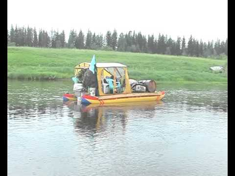 сплав рыбалка по нижней тунгуске