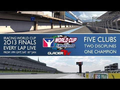 The 2013 World Cup of iRacing: Afternoon Session