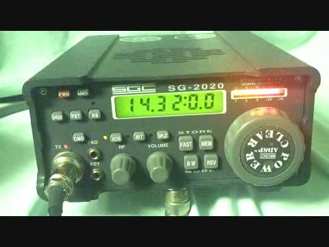 SGC 2020 hf transceiver QRP radio collectable Floyd Virginia LCF Group