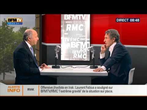 Bourdin Direct: Laurent Fabius - 20/06