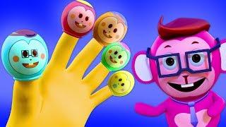 Balloon Finger Family + More Nursery Rhymes | Action Songs for Kids Babies | Nursery Rhyme Street