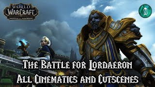 The Battle for Lordaeron All Cinematics and Cutscenes