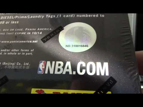 Matthew's 2012/13 Preferred Basketball Box Break