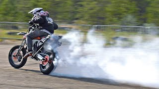 Insane Motard Drift Arttu Stenberg SMASH