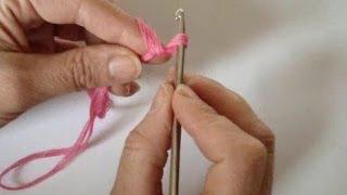 Вязание крючком урок 1 видео для начинающих
