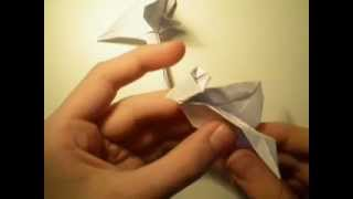 Origami: Bird Tutorial Part 2 By:robin Kivimäki