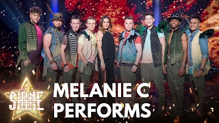 Eight of the boys perform with Melanie C - Let It Shine - BBC One
