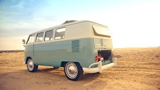 Watch classic Volkswagens become beautiful electric cars