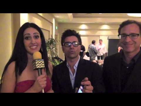 John Stamos and Bob Saget Interview for AfterBuzzTV | Project Cuddle Charity Event