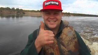 ловля троллингом на северной двине видео