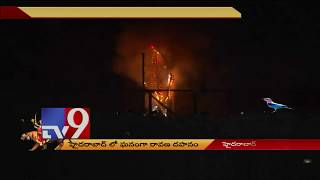 Dussehra celebrations and Ravan Dahan in Hyderabad