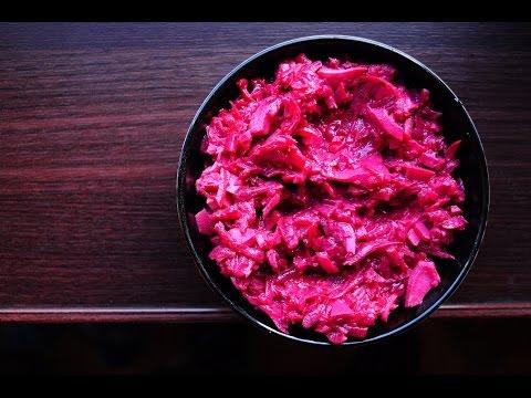 Жиросжигание: салат из варёной свеклы и яиц [спортивная диета]