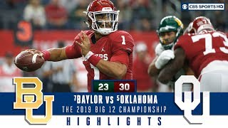 2019 Big 12 Championship Highlights: #6 Oklahoma defeats #7 Baylor in overtime | CBS Sports HQ