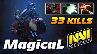 MagicaL Sniper 33 KILLS | Natus Vincere | Dota 2 Pro Gameplay