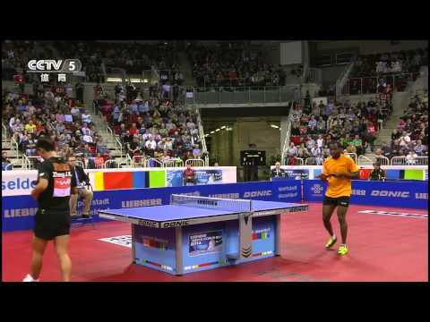2014 Men's World Cup (ms-qf) ZHANG Jike - ARUNA Quadri [HD] [Full Match/Chinese]