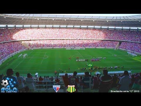 Fortaleza 2 x 2 Sampaio Corrêa - Brasileirão Série C - 13/10/2013