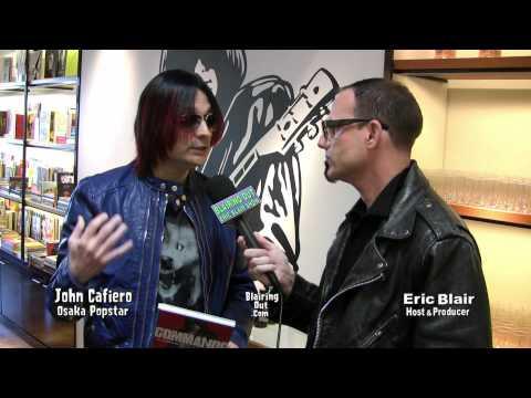 Osaka Popstar's John Cafiero Talks about Johnny Ramone's autobiography Commando w Eric Blair 2012