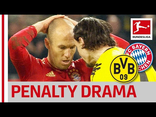The Penalty That Decided The Title Race Between Bayern amp Dortmund - Bundesliga Rewind