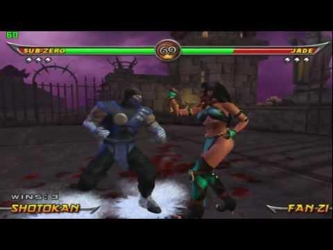 [PCSX2 0.9.8 r4600] Mortal Kombat : Armageddon (max fps) [Core i7   GT 540M]