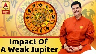 GuruJi With Pawan Sinha: Astrological Impact Of A Weak Jupiter | ABP News