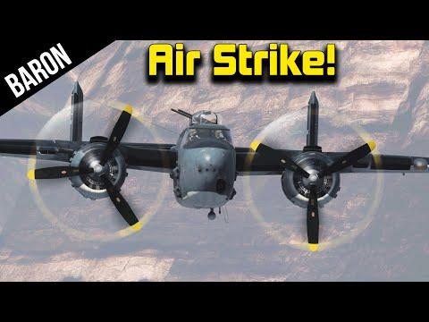 Planes vs Tanks!  PBJ & BTD-1 vs Tank Swarm - War Thunder