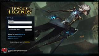 League of Legends - Camille Giriş Ekranı