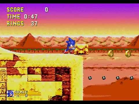 Misc Computer Games - Sonic And Knuckles - Sandopolis Zone Act 1