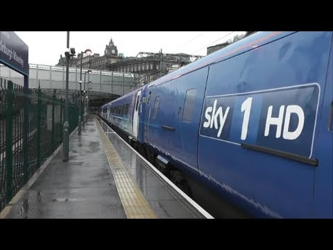 East Coast Sky 1 Train at Edinburgh Waverley!