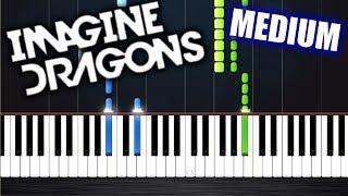 Download Lagu Imagine Dragons - Whatever It Takes - Piano Tutorial (MEDIUM) by PlutaX Gratis STAFABAND