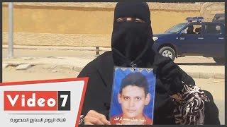 """بالفيديو.. والدة أحد ضحايا مذبحة بورسعيد """"تزغرد"""" عقب الحكم:""""هروح قبره وراسى مرفوعة"""""""