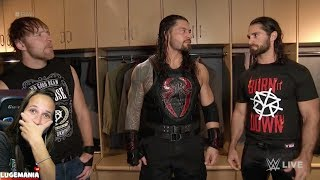 WWE Raw 10/2/17 The Shield Reunites