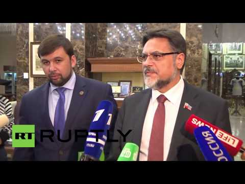 Belarus: DPR's Pushilin and LPR's Deinego disappointed after Trilateral Contact Group meeting