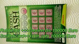 Rubbeln und Gewinnen ++ 100000 Euro ++ German Scratchcards and Win