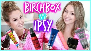Unboxing: Birchbox vs. Ipsy - OCTOBER | eleventhgorgeous