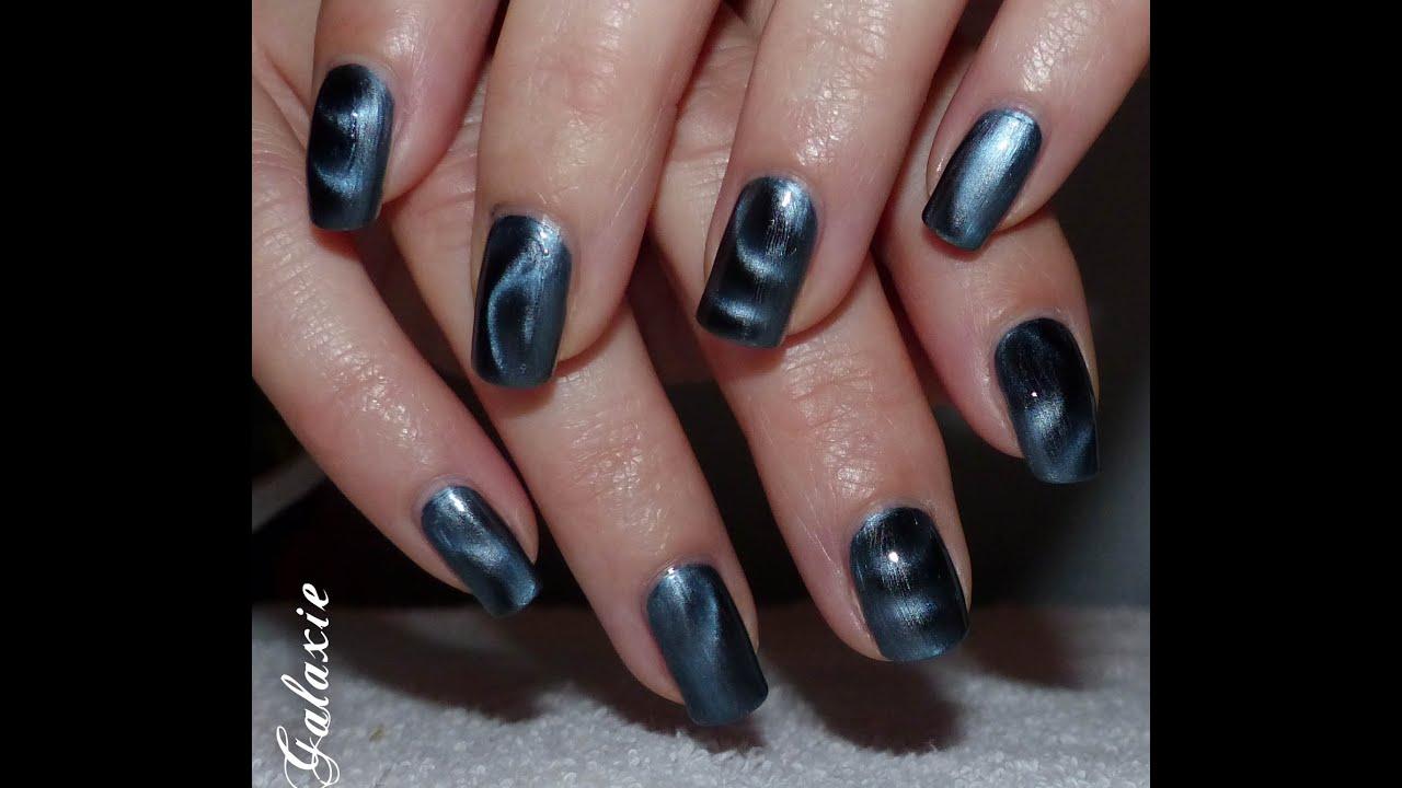 Nail Art au Vernis Magnétique