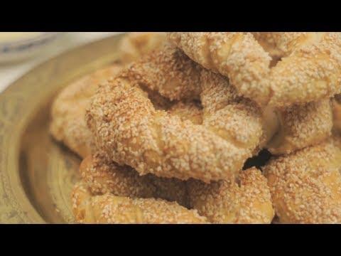 خاص لبنات زايد : كيف تصنع خبز السيميت التركي How to make Turkish Simit Bread