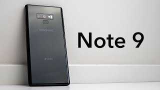 Samsung Galaxy Note 9 Test