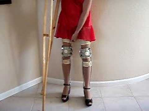 Leg Brace Red Video