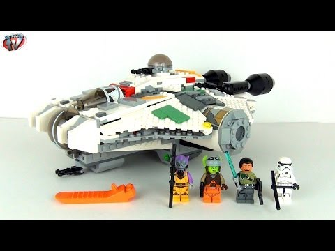 LEGO Star Wars The Ghost 75053 Toy Review & Unboxing