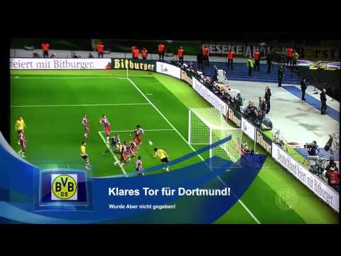 DFB Pokalfinale 2014 - Tor Mats Hummels - Tore Borussia Dortmund vs. Bayern München