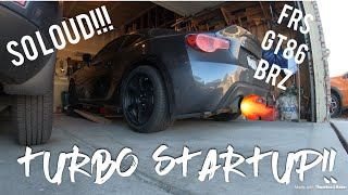 Turbo FRS First Startup!! (Toyota GT86 Subaru BRZ)