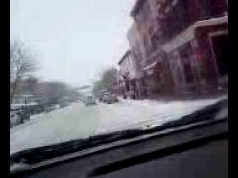 Durango, Colorado winter motoring