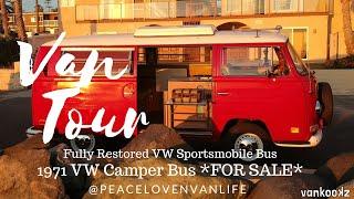 1971 VW Camper Bus Van Tour | SOLD | VW Restoration