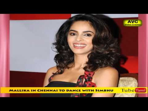 Bollywood Bombshell Mallika dances with Simbhu