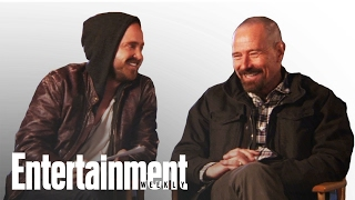Breaking Bad: Bryan Cranston & Aaron Paul Play Dialogue Game | Entertainment Weekly