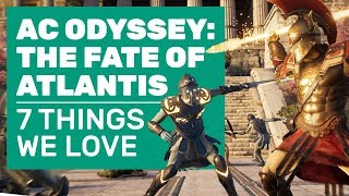 7 Reasons AC Odyssey Fate Of Atlantis Is The Best Odyssey DLC Yet