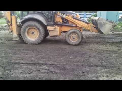 Road Construction....Road Building....Gravel Screed...Grading Roads.