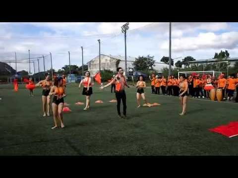 กีฬาสีแม็คโครพิดโลกโขทัยแข่งกองเชียร์สีส้ม