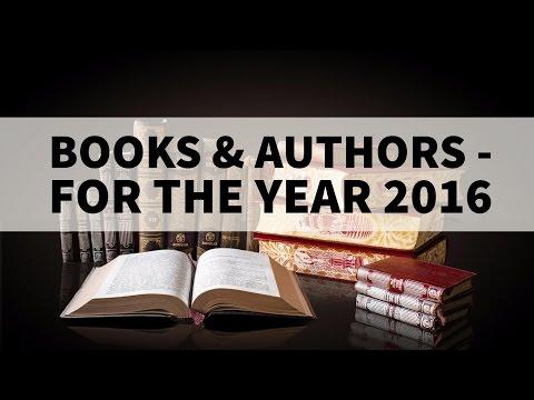 Books & Authors 2016 - Current affairs