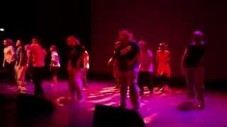 Workshop-Präsentation Hip Hop
